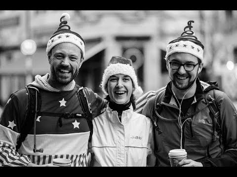 BBC INTERVIEW: Charity Christmas Ultra Run - 175 miles, 41 hours non-stop