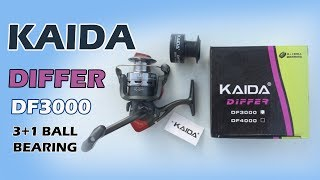 Обзор катушки Kaida DIFFER DF 3000 3+1 BB