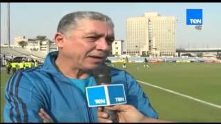ستاد TEN - الكابتن محمد عمر يتحدث عن إستعدادات نادي الإتحاد السكندري أمام نادي الداخلية