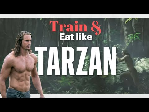I Ate And Trained Like Tarzan For A Day | Alexander Skarsgard Diet