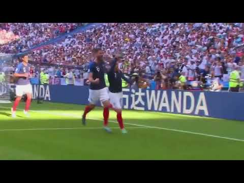 Antoine Griezmann Makes The Fortnite Take The L Dance In The World Cup 2018 Vs Argentina
