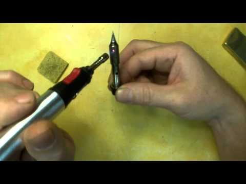 Harbor Freight Pen Torch with Soldering Kit and Knife Review Item 95288