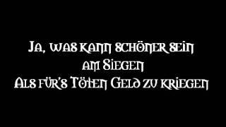 Die Streuner - Söldnerschwein (Lyrics)