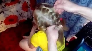 Урок 5. Три объемные косы. Красота.