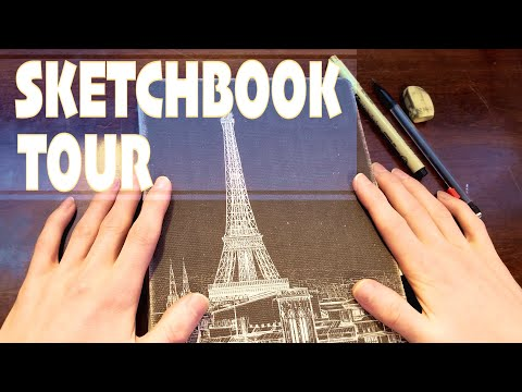 Sketchbook Tour | Anime Style Theme - Anime & Manga Sketches