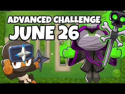 BTD6 Advanced Challenge - Wherefore Art Thou &39;Spactory&39;? - June 26 2019