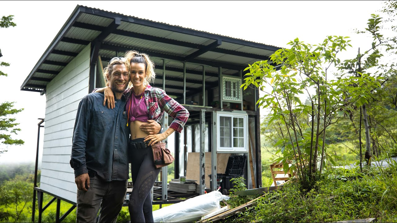 Building Our Tiny House to LAST 100 YEARS! // modern off grid home