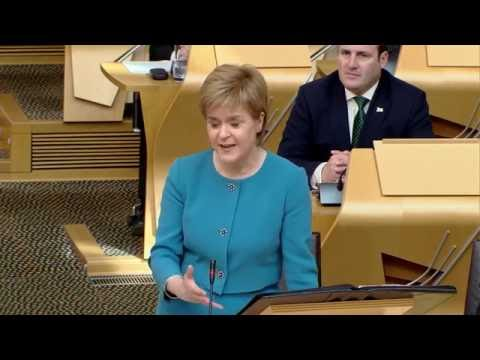 First Minister's Questions - Scottish Parliament: 9th June 2016