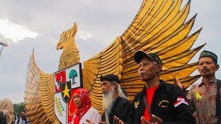 Patung Garuda Pancasila Pada peringatan Kelahiran Pancasila