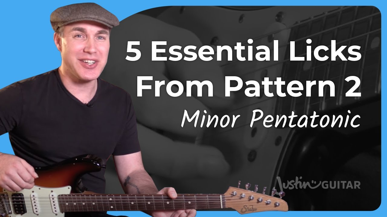 5 Blues Licks from Pattern 1 | JustinGuitar com