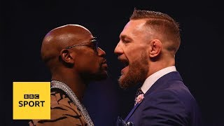 Floyd Mayweather v Conor McGregor: The trash talk has been epic - BBC Sport