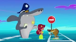 हिंदी Zig & Sharko - The Were-Yena / Cop Duty 👨�✈ Full Compilation 2019 - Hindi Cartoons for Kids