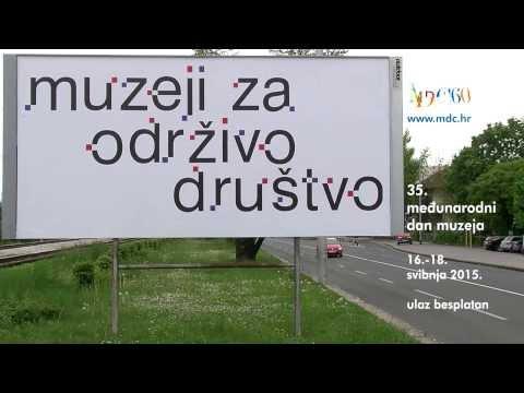 Noć muzeja - novi TV spot osmislio Boris Ljubičić u suradnji s outdoor akzent-om