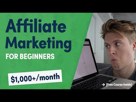 Affiliate Marketing for Beginners 2019 [Easy Starter Guide]