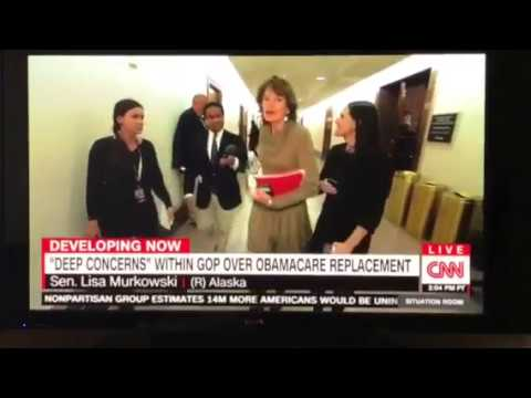 RINO Sen. Lisa Murkowski EXPLODES at CNN Reporter Over RINOCARE Question