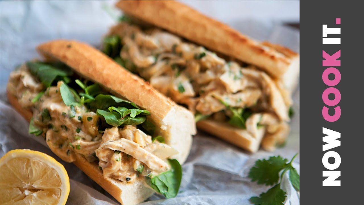 Pulled Chicken Sandwich Recipe | Now Cook It