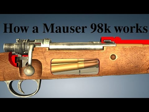 How a Mauser 98k works