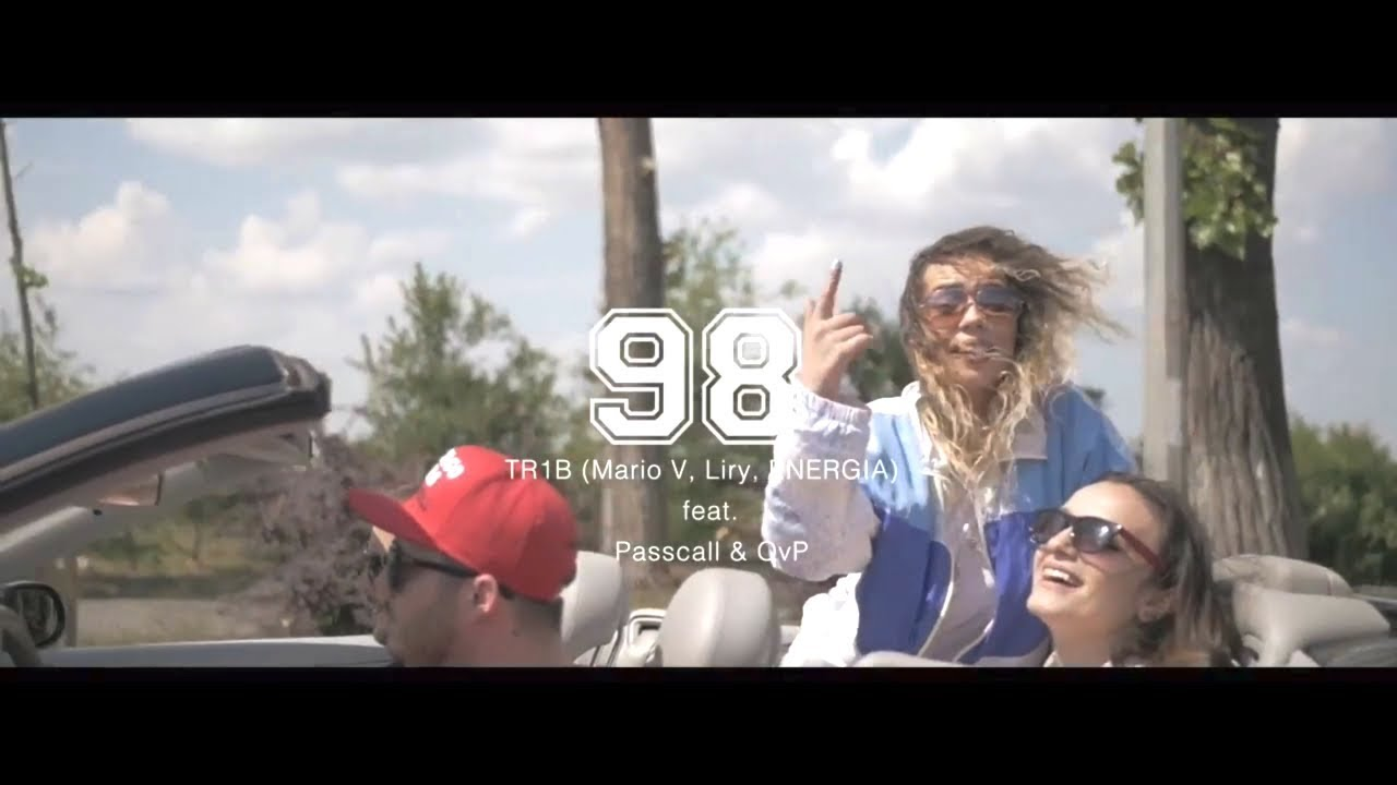 Download TR1B (Mario V, Liry, ENERGIA) feat. Passcall & OvP – 98 (Videoclip oficial)