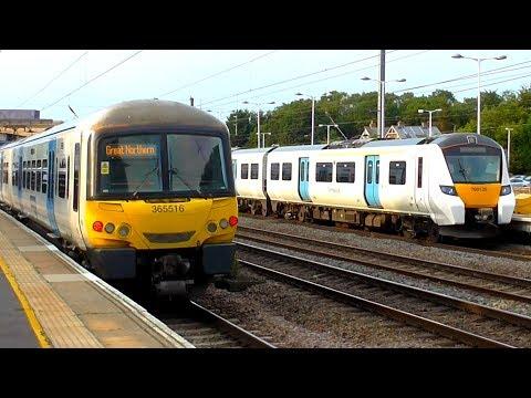 Trains At Huntingdon, ECML - 17/07/19
