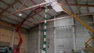Guinness world record: The tallest domino structure on earth: 10.05 meter (32.9 feet)