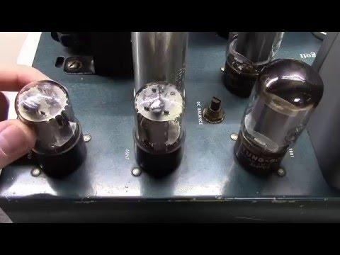 George Gott G 30U Biggs of California Audio Amplifier Restoration Part 1 - BG048
