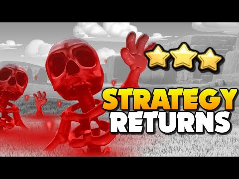 *FORGOTTEN STRATEGY MAKES A RETURN* The Skeleton Spell Donut Attack Strategy | Clash of Clans