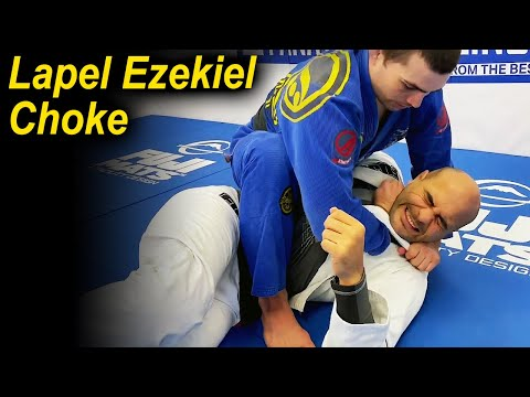 How To Tap Your Opponents With The Lapel Ezekiel Choke by Andrew Wiltse