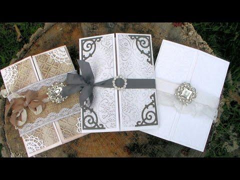DIY Wedding Invitations // Beginner Friendly // Helpful Tips!