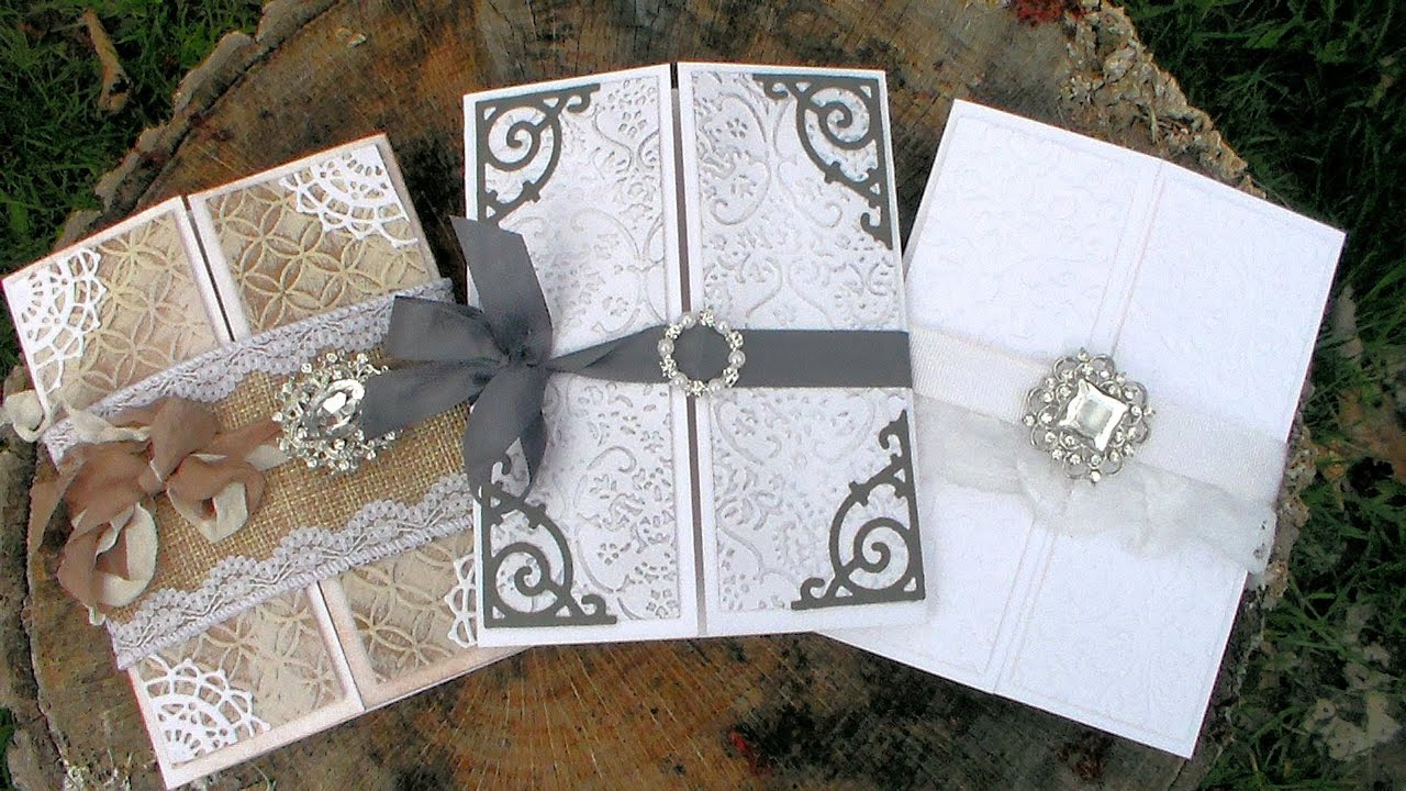 DIY Wedding Invitations // Beginner Friendly // Helpful ...