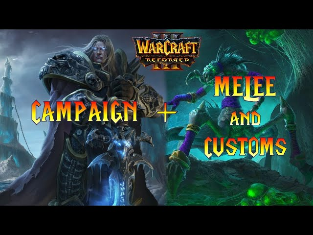 Warcraft 3 Reforged Last Scourge Mission, then Rexxar Campaign!