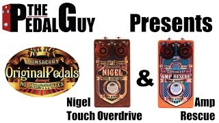 ThePedalGuy Presents the Lounsberry Nigel and Amp Rescue Pedals