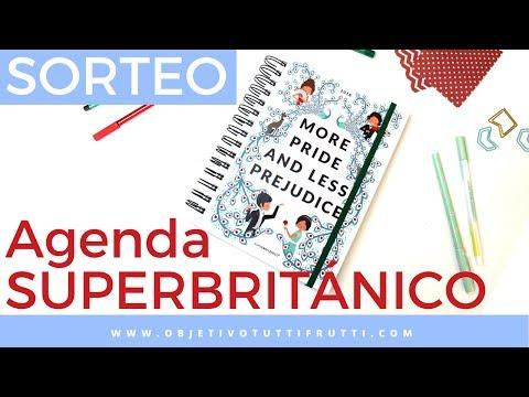 Agenda SUPERBRITÁNICO 2017-2018 REVIEW #AgendaEducada