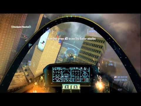 Call of Duty: Black Ops 2 - Jet Scene - Mission Cordis Die - HD Clip