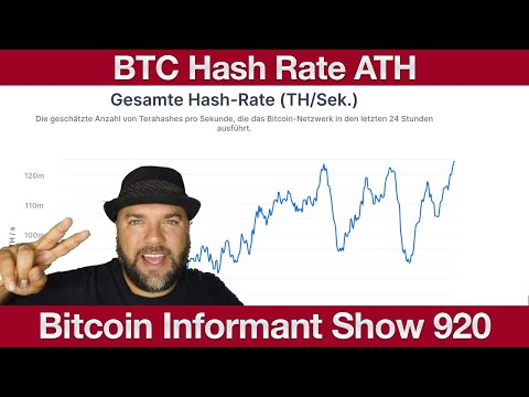 #920 Ethereum Token Aktien und Fonds, Bitcoin Hash Rate All Time High & Bitcoin com Wallet Stablecoi