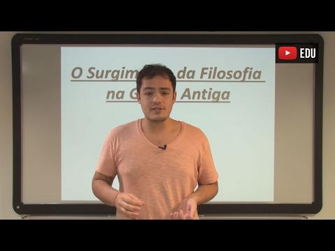 Aula 02 - Filosofia - Causas do Surgimento da Filosofia na Grécia Antiga