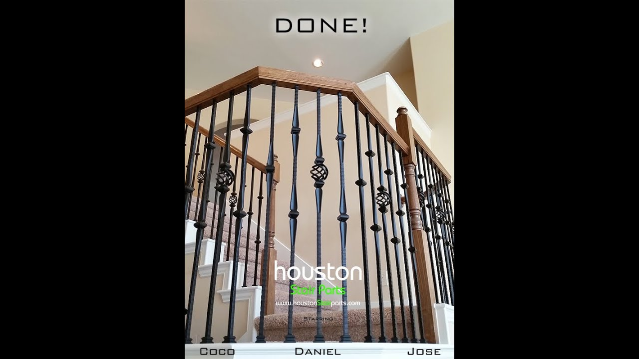 Affordable Stair Parts How To Install Iron Baers Diy Guide You