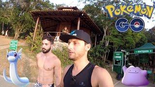 Gameplay Vlog em Guarapari Capturando Raros SEM Rastreador Pokémon GO