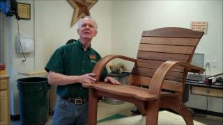 Bentwood Savannah Chair W/ Jerry Davis