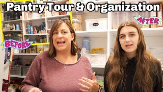 What's in Our Pantry? Organization Before & After Tour!