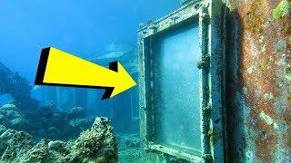 Дайверы обнаружили дверь на дне моря и решили посмотреть, что там внутри!..