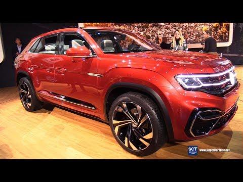 Volkswagen Atlas Sport Cross Concept - Exterior Interior Walkaround - Debut 2018 New York Auto Show