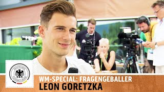 """Fortnite hat FIFA überholt"" - Leon Goretzka im Fragengeballer | WM-Special I Kickbox"