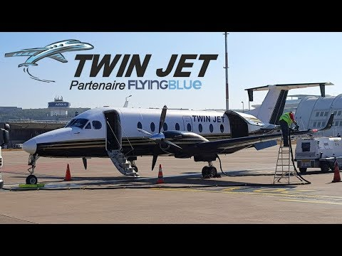 FLIGHT REPORT / TWIN JET BEECHCRAFT 1900D / MARSEILLE - PAU