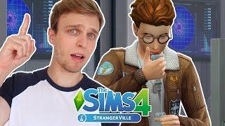 ENCONTREI A CURA DA CONTAMINAÇÃO | The Sims 4 StrangerVille #9