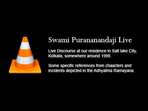 Swami Purananandaji Live