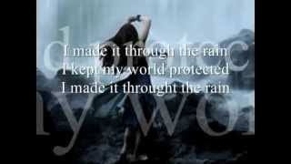 Barry Manilow - I Made It Through The Rain