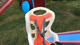 детское велокресло Bellelli Pepe Clamp обзор