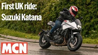 Suzuki Katana UK first ride | MCN | Motorcyclenews.com