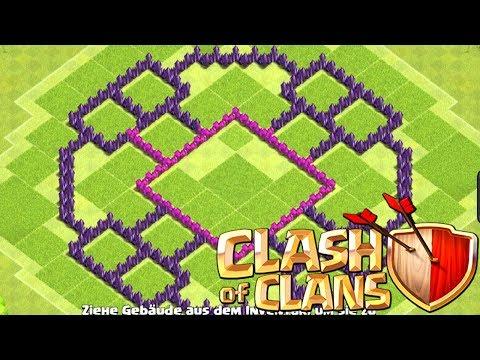 BESTE RATHAUS LEVEL 8 BASE 2017 | Clash of Clans Base Design TH 8 | Matze