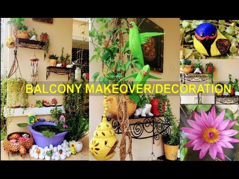 Balcony Makeover/Corner Decoration/Balcony Decoration/Wall Decoration